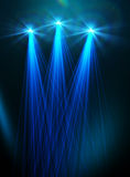 Abstract image of concert lighting. Against a dark background Stock Image