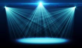 Abstract image of concert lighting. Against a dark background Royalty Free Stock Images