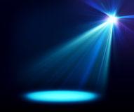 Abstract image of concert lighting. Use it for presentation Royalty Free Stock Photo