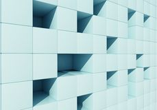 Abstract image of cubes Royalty Free Stock Image