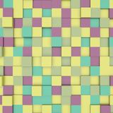 Abstract image of cubes background Stock Images