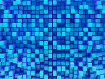 Abstract image of cubes Royalty Free Stock Images
