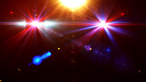 Abstract image of disco lighting. Against a dark background Stock Photography