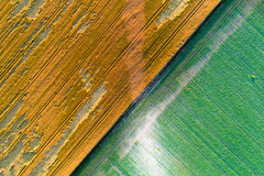 Abstract image of fields Royalty Free Stock Photo