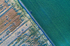 Abstract image of fields Royalty Free Stock Image