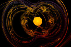 Abstract image : fractal vortex. Royalty Free Stock Photography