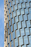 Abstract Image a glass building exterior Royalty Free Stock Images