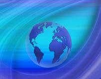 Abstract image of the globe closeup Stock Photos