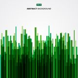 Abstract image green straight lines of nature, forest, bamboo. Vector illustration Royalty Free Illustration