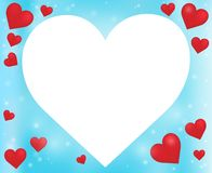 Abstract image with heart theme 5 Stock Photo