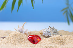 Abstract image of a holiday at sea in the summer Stock Image