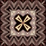 Abstract picture. Author`s work. Brown color. Abstract image for illustration. Pattern of a wavy stripes. Brown, yellow, black and white colors. Background for Stock Image