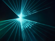 Abstract image of light show Royalty Free Stock Photo