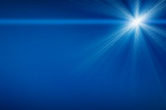 Abstract image of lighting flare. Royalty Free Stock Images