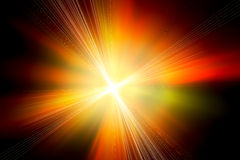 Abstract image of lighting flare. Stock Photos