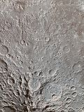 Abstract image of the lunar surface. Stock Photography