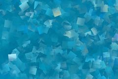 A lot of blue rectangles as a background image. Abstract image of many blue rectangles as a background image stock image