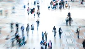 Free Abstract Image Of City Crowd. Commuters And People Shopping Stock Photo - 130530720