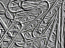 Abstract image, paper clip. Suitable for background Royalty Free Stock Photography