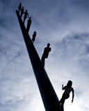Abstract image: Reach for the sky Stock Photography
