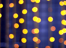 Abstract image - round, yellow and red lights Stock Images