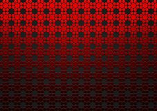 Abstract Red Geometric Floral Texture in Black Background. Abstract image of seamless red geometric flowers texture in black background for website, banner royalty free stock images