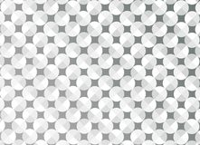 Abstract Seamless Shiny Circles in Grey Background vector illustration