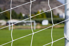 Abstract Image of a Soccer Field Royalty Free Stock Photography