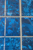 Abstract image of solar panels details Stock Images