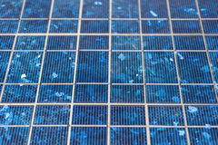 Solar panels detail Royalty Free Stock Photography