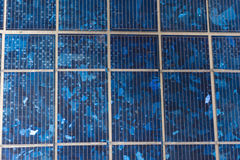 Abstract image of solar panels details Stock Photography