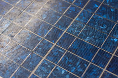 Abstract image of solar panels details Stock Photo