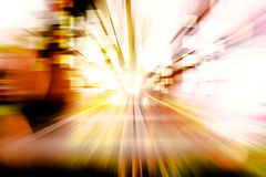 Abstract image speed in the city Stock Photography