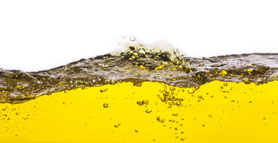 An abstract image of spilled oil Stock Photography