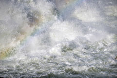 Abstract image  Strong flowing water Royalty Free Stock Photos
