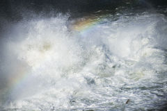 Abstract image  Strong flowing water Royalty Free Stock Photography