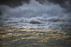 Abstract image  Strong flowing water Royalty Free Stock Photo
