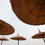 Abstract image of umbrellas Royalty Free Stock Images