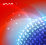 Abstract image of the USA flag Royalty Free Stock Photos