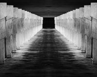 Abstract image of walkway Stock Photography