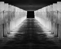 Abstract image of walkway Stock Photography