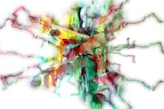 Abstract image. Wax and elegange in pastel hues Stock Images