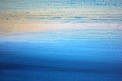 Abstract Impressionisthand geschilderd Art. Als achtergrond Stock Fotografie