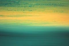 Abstract Impressionisthand geschilderd Art. Als achtergrond Royalty-vrije Stock Fotografie