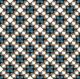 Abstract inca cross pattern Stock Images