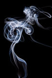 Abstract incense smoke isolated Stock Images