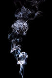 Abstract incense smoke isolated Royalty Free Stock Images
