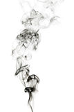 Abstract incense smoke isolated Stock Image