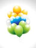 Abstract independence day Ballon. Vector illustration Royalty Free Stock Photography