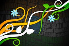 Abstract Indian Background Royalty Free Stock Photography